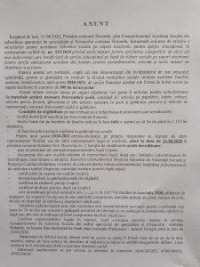 ANUNȚ privind sprijinul educațional pe bază de tichete sociale pe suport electronic, potrivit O.U.G. 133/2020